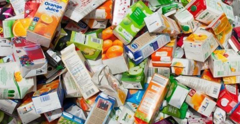 В Европе перерабатывают 85% упаковки из картона и бумаги