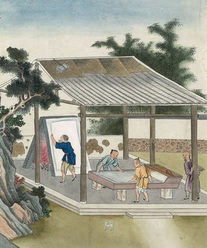 Китайский мир нашёл исторический способ перехода от ткани и войлока к бумаге