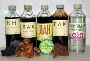 Продукты лесохимии