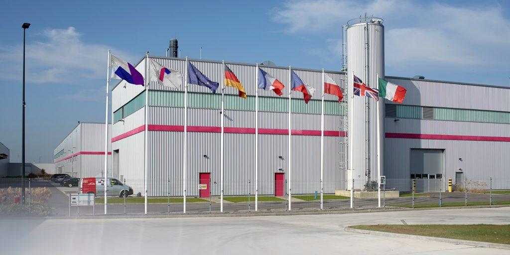 Одна из крупнейших бумажных фабрик