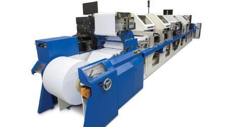 Цифровая рулонная печатная машина