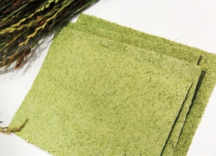 Бумага из травы